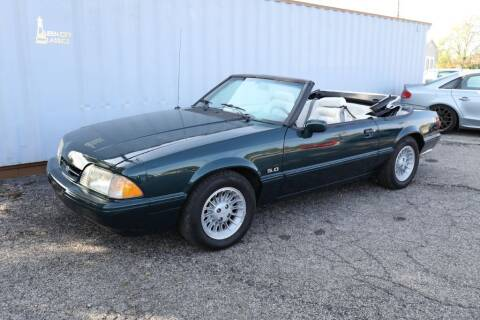 1990 Ford Mustang for sale at Queen City Classics in West Chester OH