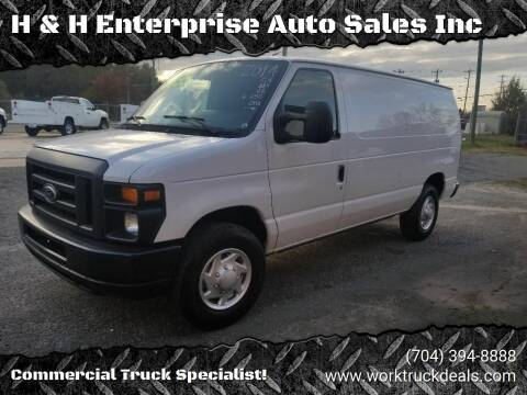 2014 Ford E-Series Cargo for sale at H & H Enterprise Auto Sales Inc in Charlotte NC