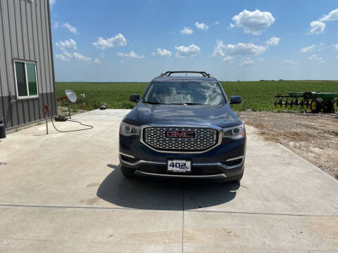2019 GMC Acadia for sale at 402 Autos in Lindsay NE