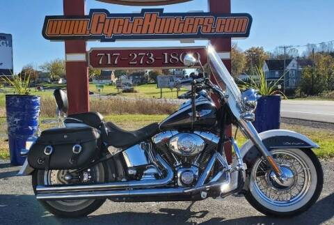 2005 Harley-Davidson Softail Deluxe FLSTNI for sale at Haldeman Auto in Lebanon PA