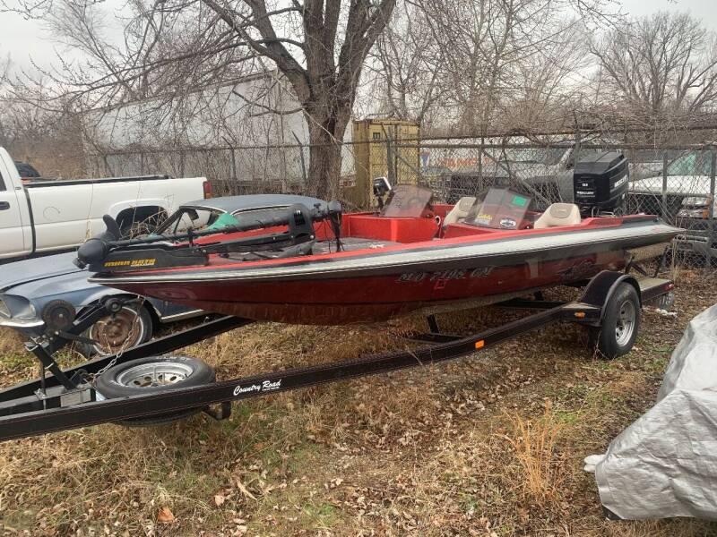 1989 Laser Bass Boat for sale at Korz Auto Farm in Kansas City KS