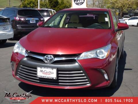 2016 Toyota Camry for sale at McCarthy Wholesale in San Luis Obispo CA