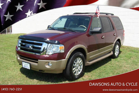 2012 Ford Expedition for sale at Dawsons Auto & Cycle in Glen Burnie MD