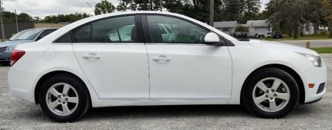 2013 Chevrolet Cruze for sale at Hilltop Auto in Prescott MI