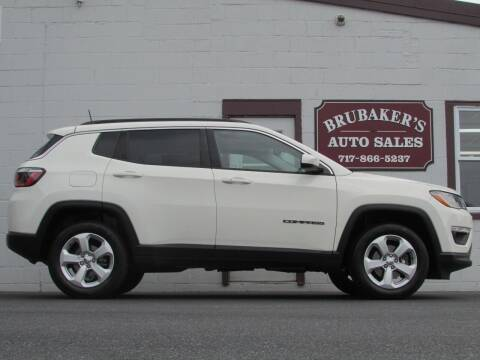 2017 Jeep Compass for sale at Brubakers Auto Sales in Myerstown PA