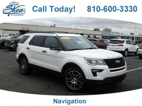 2019 Ford Explorer for sale at Erick's Used Car Factory in Flint MI