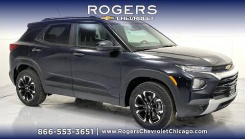 2021 Chevrolet TrailBlazer for sale at ROGERS  AUTO  GROUP in Chicago IL