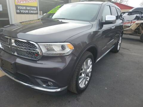 2015 Dodge Durango for sale at Bailey Family Auto Sales in Lincoln AR