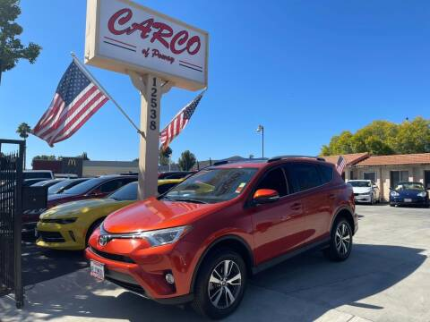 2016 Toyota RAV4 for sale at CARCO OF POWAY in Poway CA