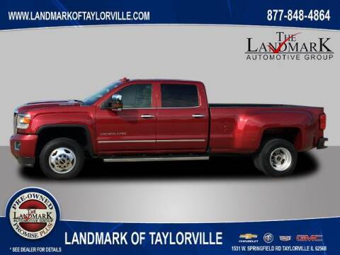 2018 GMC Sierra 3500HD for sale at LANDMARK OF TAYLORVILLE in Taylorville IL