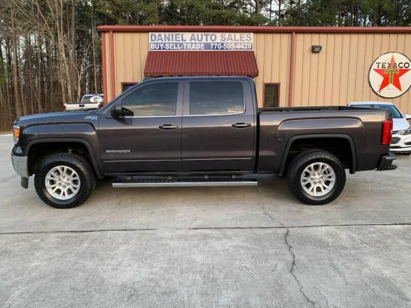 2015 GMC Sierra 1500 for sale at Daniel Used Auto Sales in Dallas GA