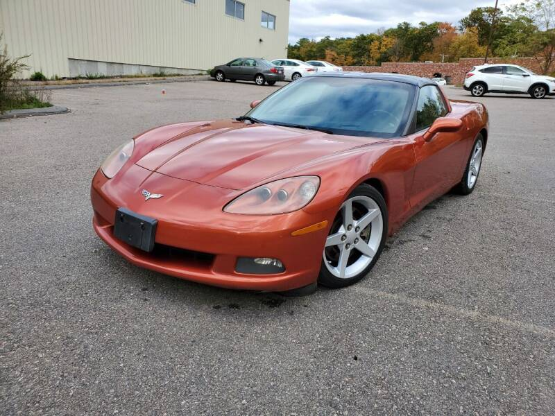 2005 Chevrolet Corvette for sale at Velocity Motors in Newton MA