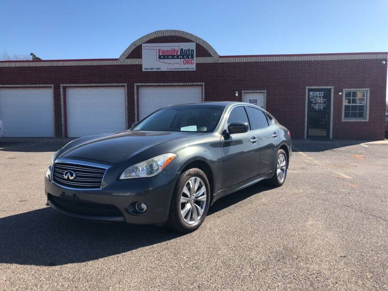 2012 Infiniti M37 for sale at Family Auto Finance OKC LLC in Oklahoma City OK
