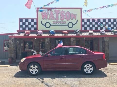 2006 Chevrolet Malibu for sale at Watson Motors in Poteau OK