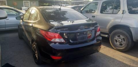 2012 Hyundai Accent for sale at C.J. AUTO SALES llc. in San Antonio TX