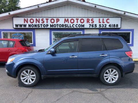 2011 Subaru Forester for sale at Nonstop Motors in Indianapolis IN