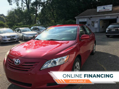 2009 Toyota Camry for sale at VERNON MOTOR CARS in Vernon Rockville CT