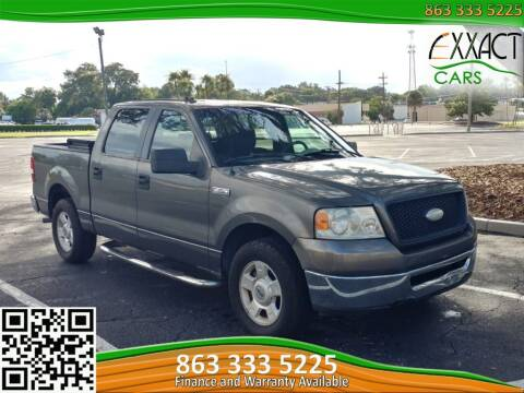 2006 Ford F-150 for sale at Exxact Cars in Lakeland FL