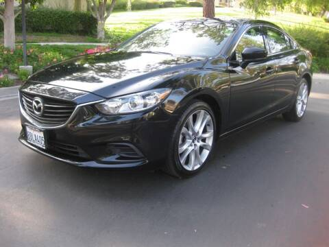 2017 Mazda MAZDA6 for sale at E MOTORCARS in Fullerton CA