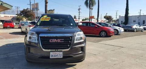 2016 GMC Terrain for sale at Auto Land in Ontario CA