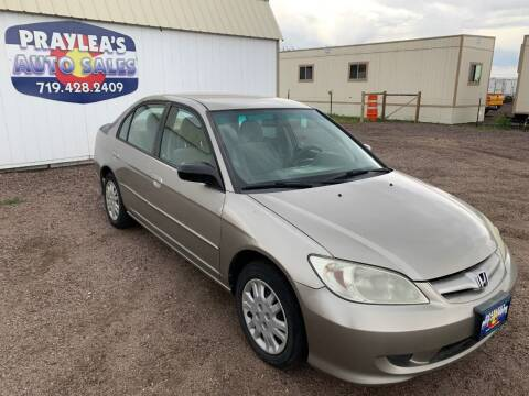 2005 Honda Civic for sale at Praylea's Auto Sales in Peyton CO