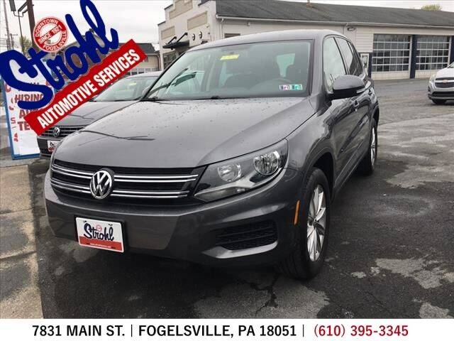 2014 Volkswagen Tiguan for sale at Strohl Automotive Services in Fogelsville PA