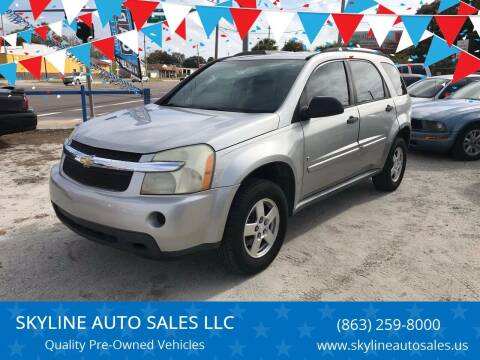 2007 Chevrolet Equinox for sale at SKYLINE AUTO SALES LLC in Winter Haven FL