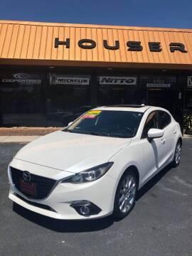 2015 Mazda MAZDA3 for sale at Houser & Son Auto Sales in Blountville TN