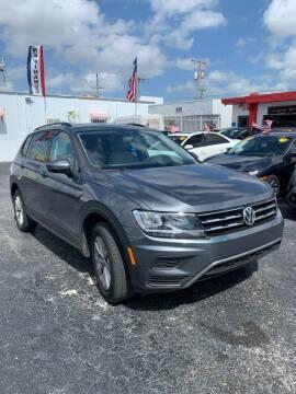 2018 Volkswagen Tiguan for sale at MACHADO AUTO SALES in Miami FL