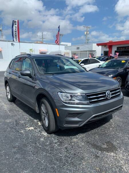 2018 Volkswagen Tiguan for sale at MACHADO AUTO SALES in Miami FL