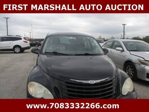 2008 Chrysler PT Cruiser for sale at First Marshall Auto Auction in Harvey IL