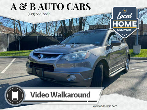 2008 Acura RDX for sale at A & B Auto Cars in Newark NJ
