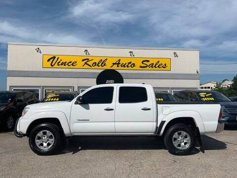 2012 Toyota Tacoma for sale at Vince Kolb Auto Sales in Lake Ozark MO