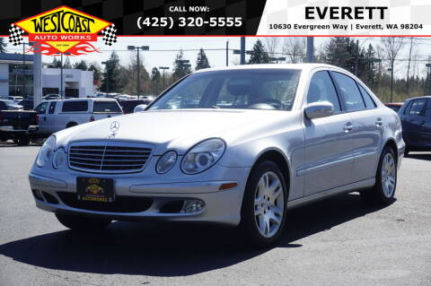 2003 Mercedes-Benz E-Class for sale at West Coast Auto Works in Edmonds WA