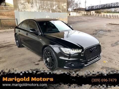 2012 Audi A6 for sale at Marigold Motors, LLC in Pekin IL
