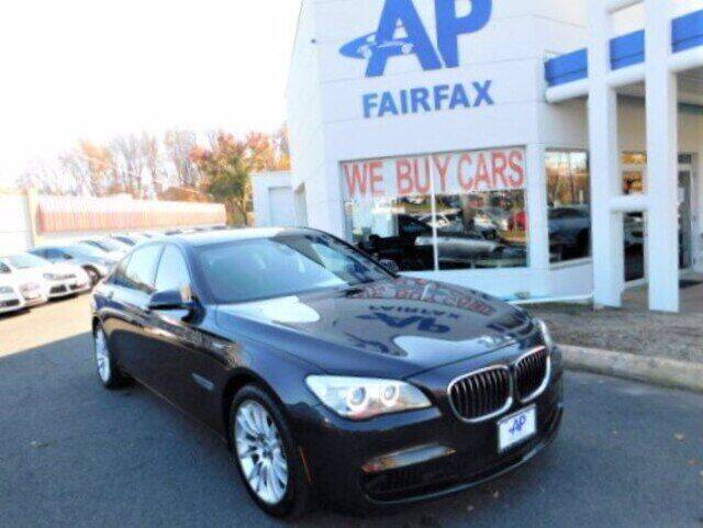 2014 BMW 7 Series for sale at AP Fairfax in Fairfax VA