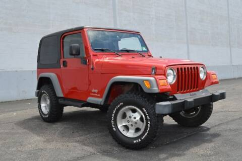 2003 Jeep Wrangler for sale at First Class Auto Land in Philadelphia PA