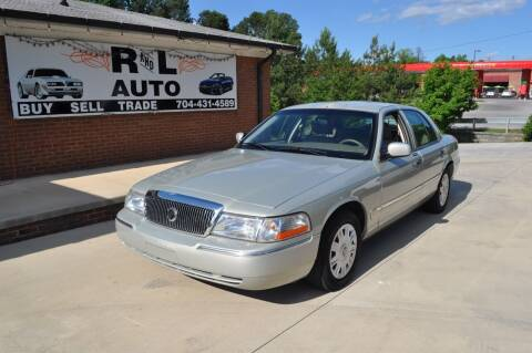 2004 Mercury Grand Marquis for sale at R & L Autos in Salisbury NC