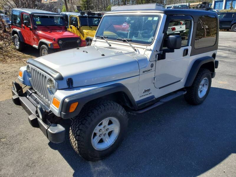 2004 Jeep Wrangler for sale at MX Motors LLC in Ashland MA