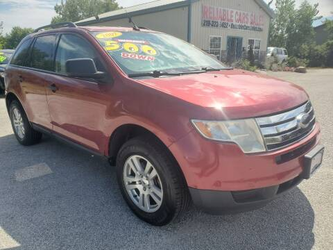 2007 Ford Edge for sale at Reliable Cars Sales in Michigan City IN