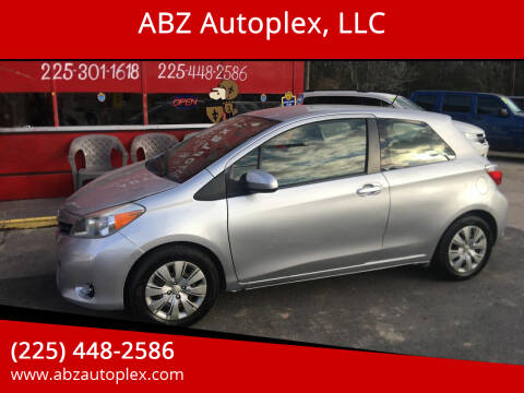 2014 Toyota Yaris for sale at ABZ Autoplex, LLC in Baton Rouge LA