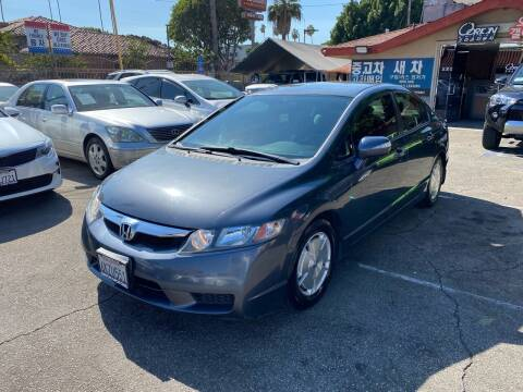 2009 Honda Civic for sale at Orion Motors in Los Angeles CA