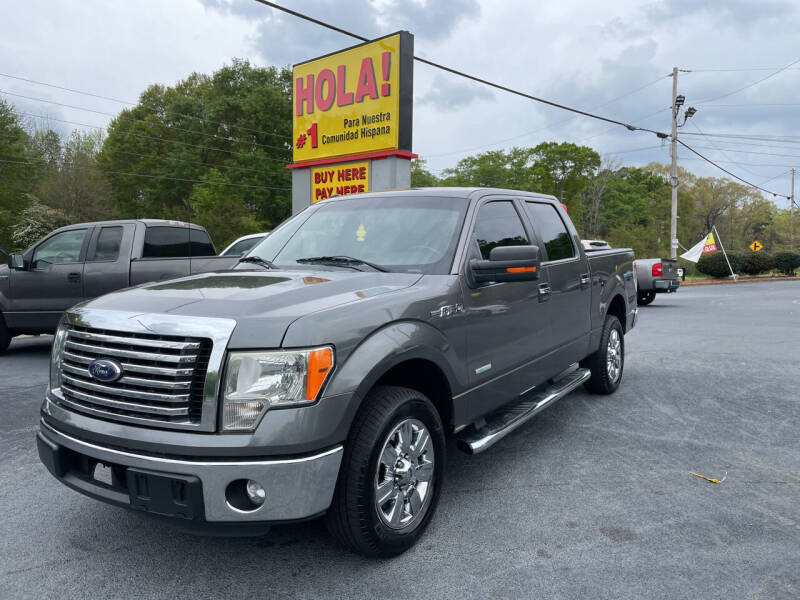 2011 Ford F-150 for sale at No Full Coverage Auto Sales in Austell GA