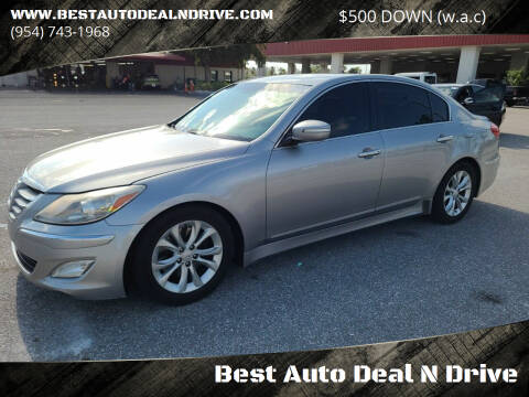 2012 Hyundai Genesis for sale at Best Auto Deal N Drive in Hollywood FL
