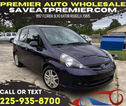 2008 Honda Fit for sale at Premier Auto Wholesale in Baton Rouge LA