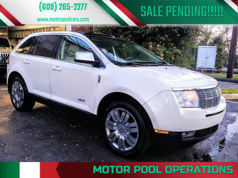 2008 Lincoln MKX for sale at Motor Pool Operations in Hainesport NJ