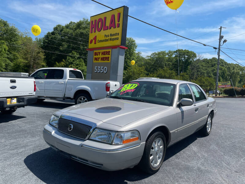 2005 Mercury Grand Marquis for sale at No Full Coverage Auto Sales in Austell GA