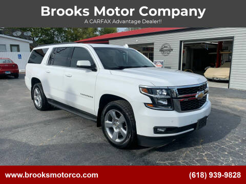 2016 Chevrolet Suburban for sale at Brooks Motor Company in Columbia IL