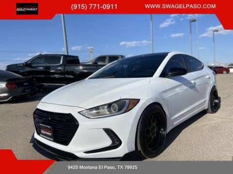 2018 Hyundai Elantra for sale at SOUTHWEST AUTO GROUP-EL PASO in El Paso TX