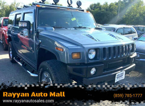 2007 HUMMER H2 for sale at Rayyan Auto Mall in Lexington KY